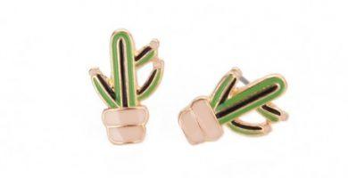Pendientes de Cactus